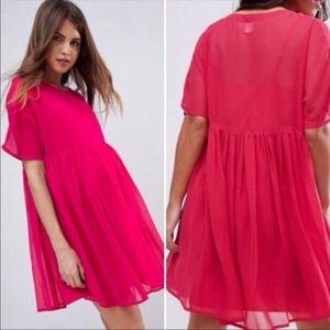 ASOS Maternity Chiffon Baby Doll Dress